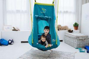 Nestschaukel mit Zelt, Hängeschaukel, Nestschaukel für Kleinkinder