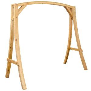 Schaukelgestell aus Holz, Gartenschaukel Gestell