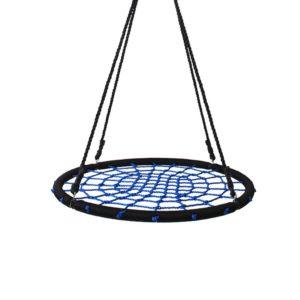 Tellerschaukel Blau, Netzschaukel
