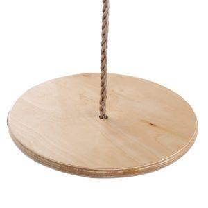 Tellerschaukel aus Holz, Kinderschaukel