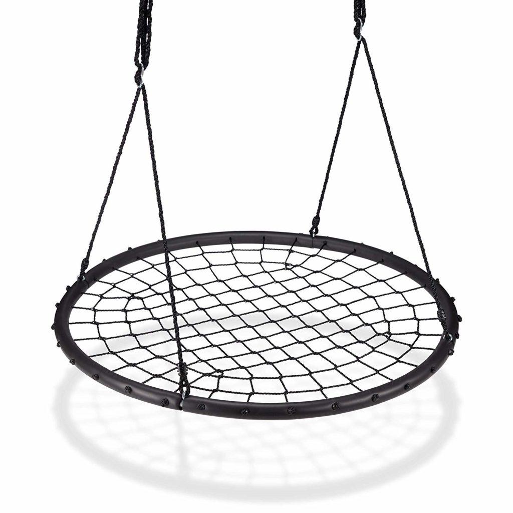 Nestschaukel mit Netz, Tellerschaukel